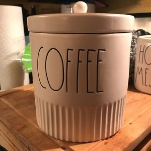 Brand New Rae Dunn Coffee Canister